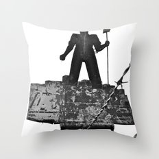 Working America Throw Pillow