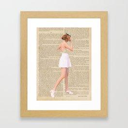 Mon Amour Framed Art Print