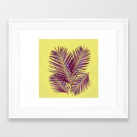 palms Framed Art Prints featuring Palms by  Agostino Lo Coco