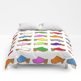 Because Clogs Comforters