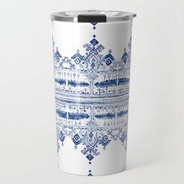 Bohem Blue Travel Mug