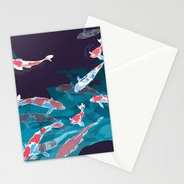Koi dance Stationery Cards
