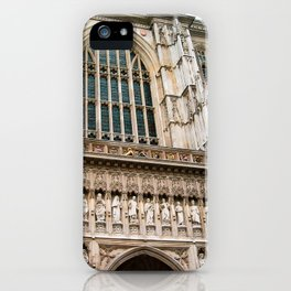 Gothic Westminster Abbey London Photo by Larry Simpson iPhone Case