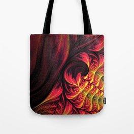 Fire Fractal Deep Life Tote Bag