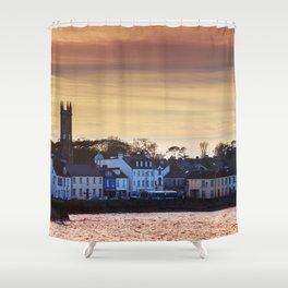 Donaghadee - Sunset Shower Curtain