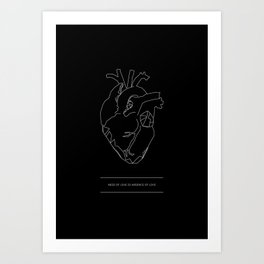 Need/Absence Art Print