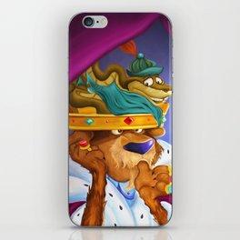"""Prince John & Sir Hiss"" iPhone Skin"
