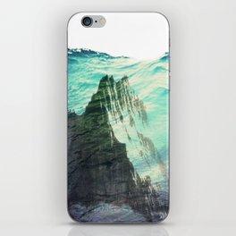 Underwater Mountain iPhone Skin