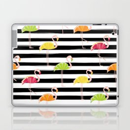 Citrus Flamingo Laptop & iPad Skin