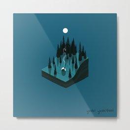 Moonscape II Metal Print