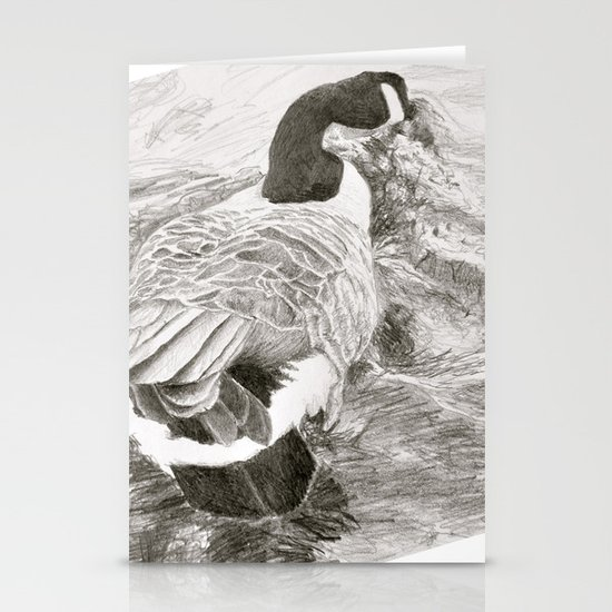 Duck Stationery Cards