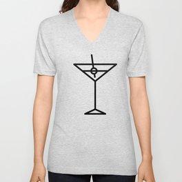 Martini Unisex V-Neck