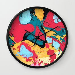 Marble texture 8 Wall Clock