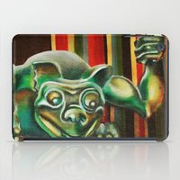 """haunted mansion iPad Cases featuring Disneyland Haunted Mansion inspired """"Wall-To-Wall Creeps No.2"""" by ArtisticAtrocities"""