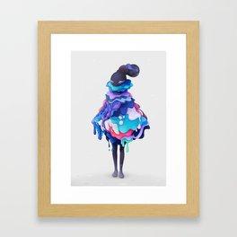 Lollipop Queen Framed Art Print