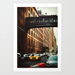 New York - Chelsea Market Art Print