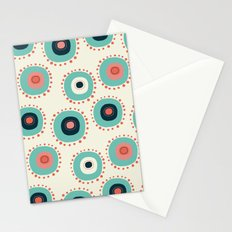 Flower Abstract Stationery Cards
