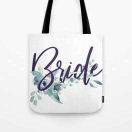 Bride Watercolour Tote Bag