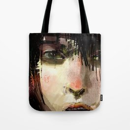 Poster Girl Tote Bag