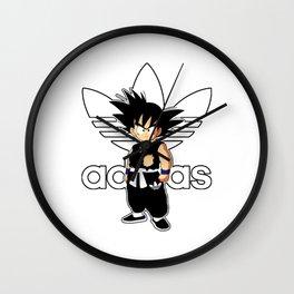 Goku Addidas Wall Clock