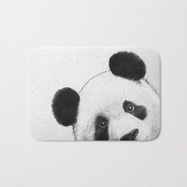 peekaboo panda Bath Mat