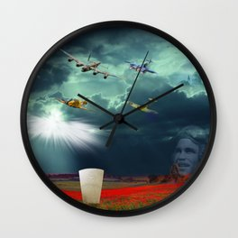 Defenders Of The Realm Wall Clock
