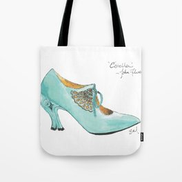 Ode to John Fluevog's Estella - Watecolor & Ink Tote Bag