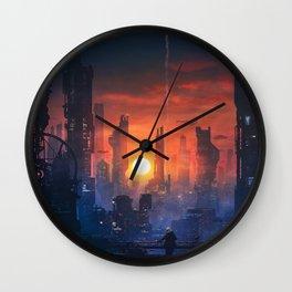 Barcelona Smoke & Neons: The End Wall Clock