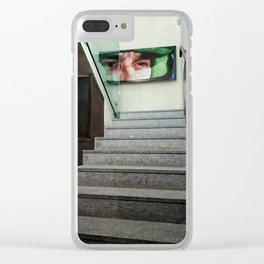 Ayrton Senna Clear iPhone Case