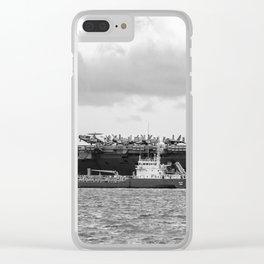 USS George H.W Bush. Clear iPhone Case