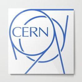 CERN Logo Metal Print