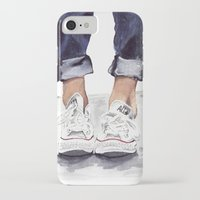 converse iPhone & iPod Cases featuring Converse by Bridget Davidson