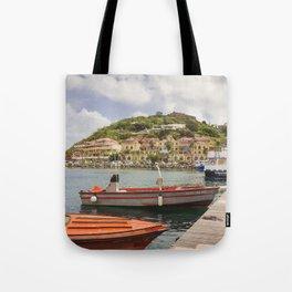 Marigot, St Martin Tote Bag