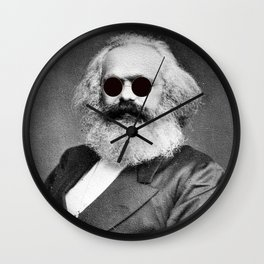 Cool Marx Wall Clock