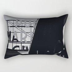 pike place Rectangular Pillow