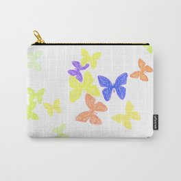 Summer Butterflies Carry-All Pouch