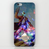 star lord iPhone & iPod Skins featuring Star-lord by KP Designs