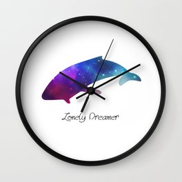Lonely Dreamer 6 Wall Clock