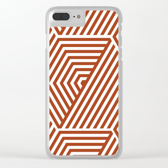 Labirinto Clear iPhone Case