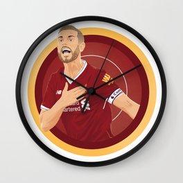 Jordan Henderson Wall Clock