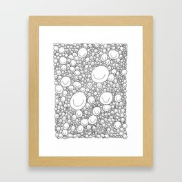 Sticking Together Framed Art Print