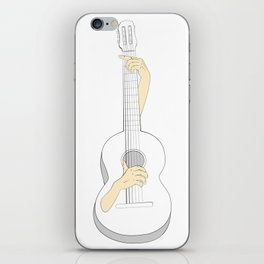 Self playing guitar iPhone Skin