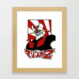 Mazinger Z Framed Art Print