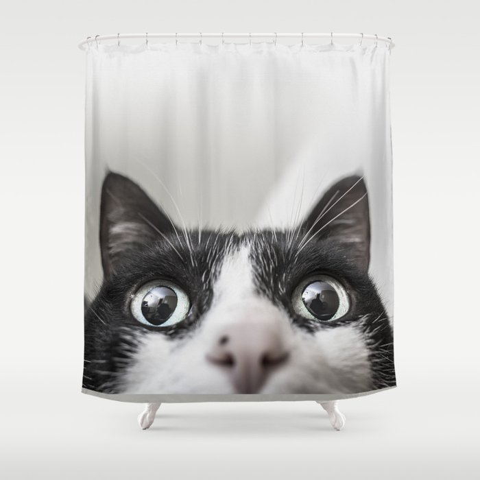 Cat Shower Curtain by joaobizarro | Society6