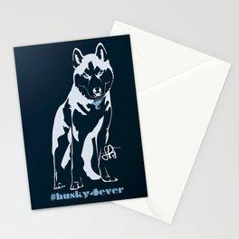 Husky forever Stationery Cards