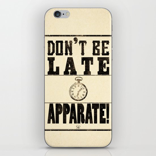 Apparate! iPhone Skin