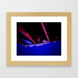 Beauty from the Ashes:  The Ceiling Framed Art Print