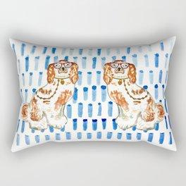 REDHEAD IN GLASSES Rectangular Pillow