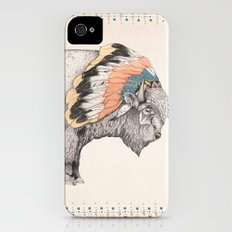White Bison Slim Case iPhone (4, 4s)
