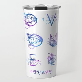 Kpop BTS: LOVE YOURSELF! Travel Mug